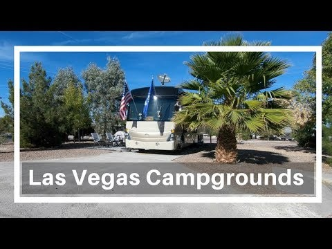 RV Campgrounds in Las Vegas: Desert Eagle RV Park (Nellis Air Force Base) and  Lake Mead RV Village