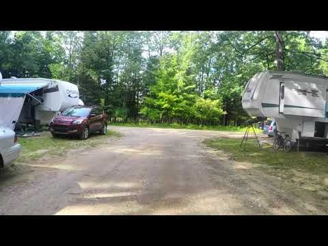 Driving Tour of Camp Grayling RV Park, MI